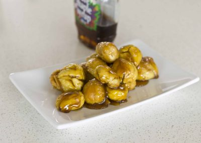 Maple Roasted Chestnuts