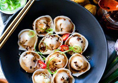 Plant-Based Chestnut Dumpling
